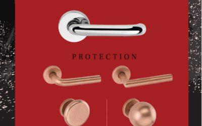 Антибактеріальні та антиалергенні дверні ручки